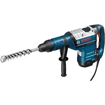 Bosch Professional 611265000 Perforateur GBH 8-45 DV (1500 W, SDS max, Tube de Graisse, Poignée Supplémentaire, Diamètre Perçage Béton avec Forets : 12-45 mm, Force de Frappe Maxi : 12,5 J)