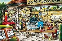 大人のジグソーパズル1500個-自動車修理店-子供の教育玩具タングラム誕生日プレゼント