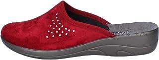 inblu Ciabatte Pantofole Donna Chiuse Calde Invernali Tessuto 5D15