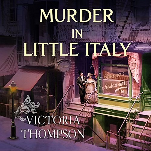 Murder in Little Italy audiobook cover art