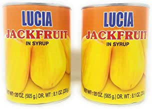Lucia Jackfruit in Syrup 230g, 2 Pack