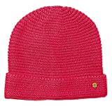edc by Esprit Accessoires Damen 028CA1P001 Strickmütze, Rosa (Pink Fuchsia 660), One Size (Herstellergröße: 1SIZE)