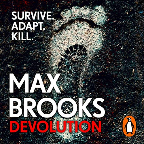 Devolution audiobook cover art