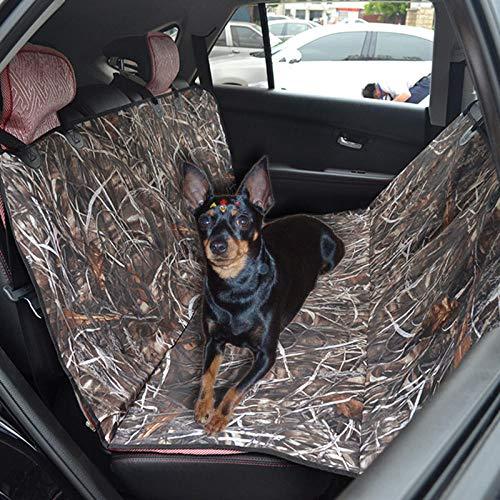 TTXP Protector Solar Perros Patrón de Camuflaje Protector Asientos Perro para Asiento de Coche para Perros
