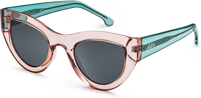 Aiblii Cat Eye Sunglasses Women UV Polarized Fashion Designer Sun Glasses for Ladies