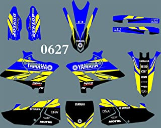 DST0627 Customized 3M Sticker Motorcross Graphic Motorcycle Decals Stickers Kit Graphics set for Yamaha YZ125/YZ250/X 2015 2016 2017 2018
