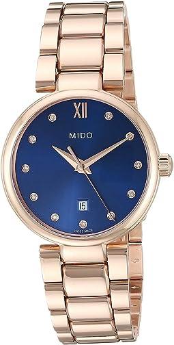 Baroncelli Donna Quartz Rose PVD Bracelet - M0222103304600