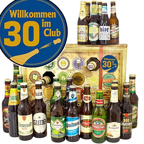 Wilkommen im Club 30 + Biere aus DEU und Welt + Bier Adventskalender
