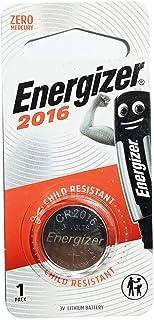Energizer MAX- SP COIN Lithium Batteries - 3V E-CR2016BP1