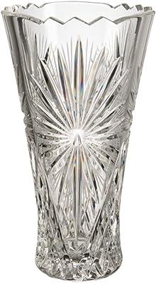 Verre de Bohême Vase, Verre, 13x 13x 25cm