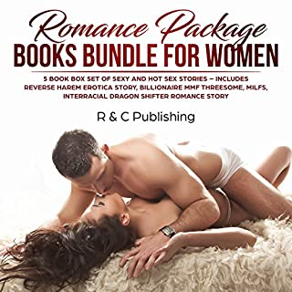 Romance Package Books Bundle for Women: 5 Book Box Set of Sexy and Hot Sex Stories audiobook cover art
