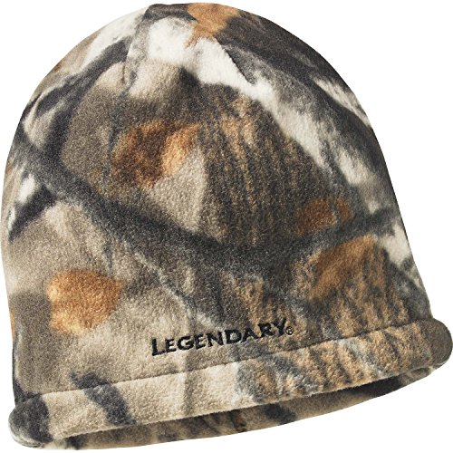 Legendary Whitetails Men's Trophy Buck Reversible Knit Camo Hat, Army, One Size
