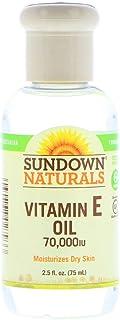 Sundown Naturals, Vitamin E Oil, 70,000 IU, 2.5