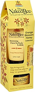 The Naked Bee Orange Blossom Honey Collection, 3 Piece Gift Set