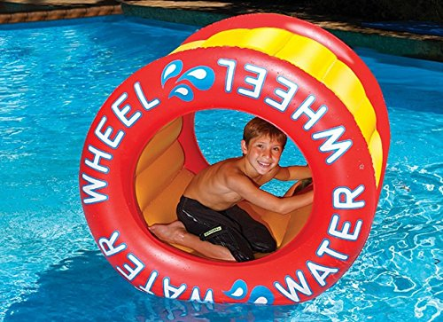 The Inflatable Water Wheel Water Float Toy for Swimming Pool & Beach