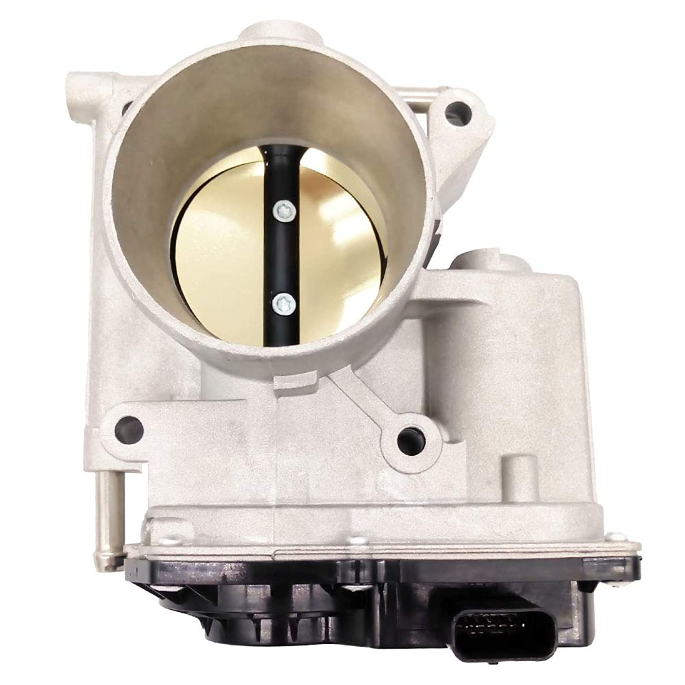 Germban L3R413640 Fuel Injection Throttle Body Assembly Fits for Mazda 3 Mazda 5 Mazda 6 2.0L 2.3L Non-Turbo