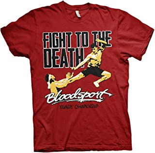Bloodsport Officially Licensed Fight to The Death Mens T-Shirt (Tango-Red)
