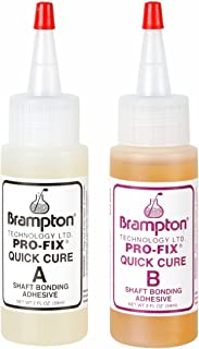 Brampton Pro-Fix 5 and 15 Quick Cure Epoxy Bottle, 4-Ounce