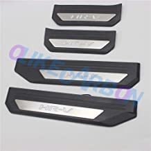 OLIKE for Toyota C-HR CHR 2016 2017 2018 2019 Fashion Style Led Door Sill Scuff Plate Guard Sills Protector Trim