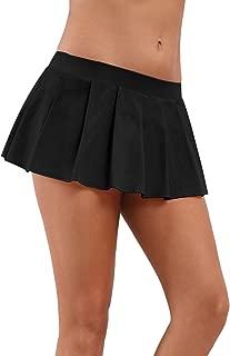 zfmy Women Role Play Mini Pleated Skirt Ruffle Lingerie for Schoolgirl