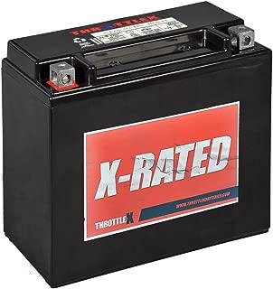 ThrottleX Batteries - ADX20H-BS - AGM Replacement Power Sport Battery
