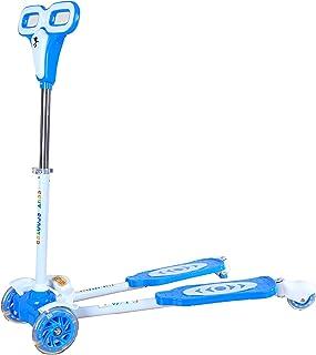 سكوتر للاولاد - 4 عجلات - أزرق - HDL702