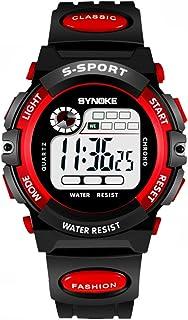 Children 'S Reloj Impermeable Luminoso Multi - Deportes Funcionales Electronicos