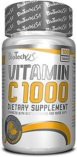 Biotech USA - Vitamin C 1000 mg - 100 Tabletas