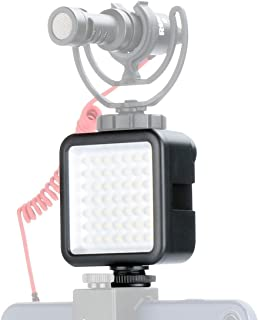 Ulanzi Ultra Bright Led Video Light - Led 49 Dimmable Ultra Bright Portable High Power Panel Video Light, Led Light for Ca...