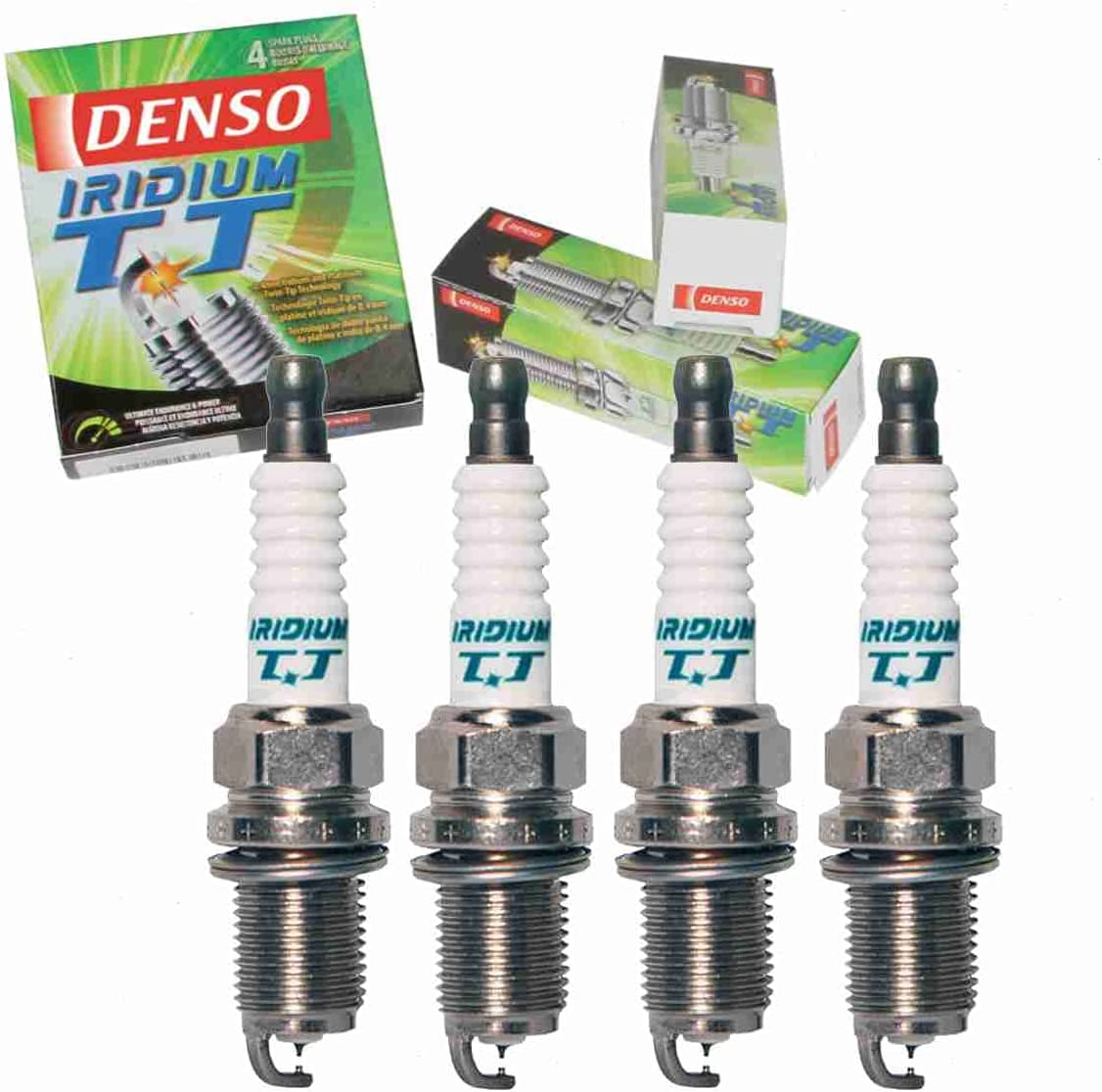 4 pc DENSO Iridium Direct sale of manufacturer TT Spark Prius C Plugs Toyota with compatible Ranking TOP11