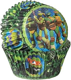 Wilton 415-7745 50 Count Teenage Mutant Ninja Turtles Baking Cups