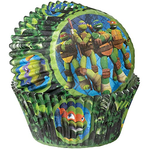 Wilton 50 Count Teenage Mutant Ninja Turtles Baking Cups