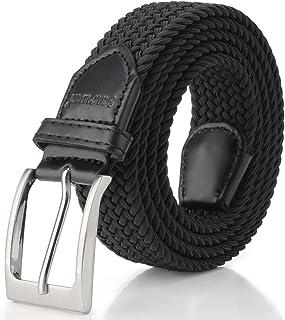 Elastic Braided Belt, Fairwin Enduring Stretch Woven Belt for Men/Women/Junior…