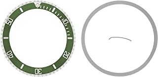 BEZEL + INSERT FOR ROLEX SUBMARINER 16610LV 50TH ANNIVERSARY GREEN
