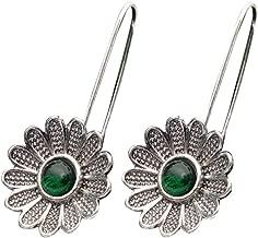 Fashion Jewelry Womens 925 Sterling silver Plated Dangle Earrings E7