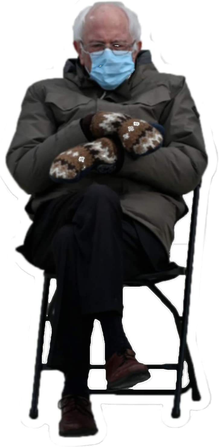 Bernie Sanders Mittens - Full Size Cutout Quantity limited Bombing free shipping Fe Stands Cardboard 4