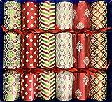 Crackers Ltd Selección de caja de grandes figuras de Navidad con animales de cerámica - conejo, unicornio, elefante, gato, tortuga, cisne