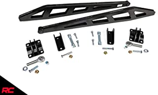 Rough Country Traction Bar Kit compatible w/ 2007-2018 Chevy Silverado GMC Sierra 1500 4WD 1069