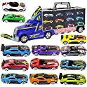 "Haptime 20"" Large Carrier Truck with 12 Pieces Sports Car"