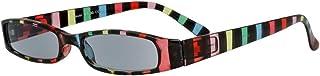LINDAUER Getinte dames leesbril +2,25 kleurrijke kant-en-klare bril flexbeugel etui