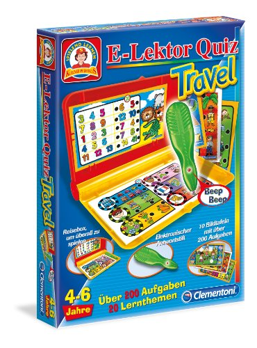 Clementoni 69540.9 - E-Lektor Quiz Travel
