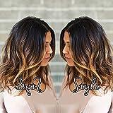 TopFeeling Short Lace Front Wigs Human Hair Bob Wigs Brazilian Body Wave Ombre Highlight Color Short Wigs For Black Women