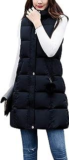 سترة طويلة نسائية شتوية مبطنة من القطن من تانمينج، ملابس خارجية مع جيوب ذات غطاء للرأس