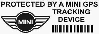 5/X Pphyundaigpsred GPS Rouge appareil de suivi S/écurit/é pour fen/êtres Stickers 87/x Installed on This Vehicle van Alarme tracker