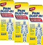 Pain Bust-R II 3 Ounce Units (Pack of 3)