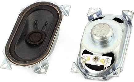 Aexit 8Ohm 1W 40mm Diam/ètre aimant interne Mini haut-parleur Lot de 6 804P947