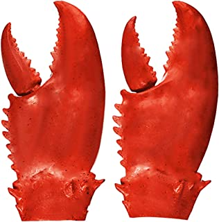 Funny Lobster Crab Claws Gloves Weapons Cosplay Amor Halloween Costume Props Novelty DIY Toy for Kids