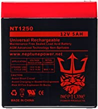 Casil ADT CA1240 12V 4Ah SLA Alarm Replacement Battery by Neptune Power