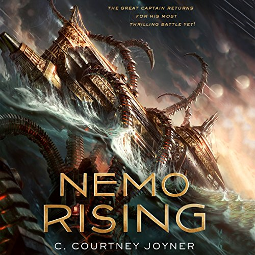 Nemo Rising audiobook cover art