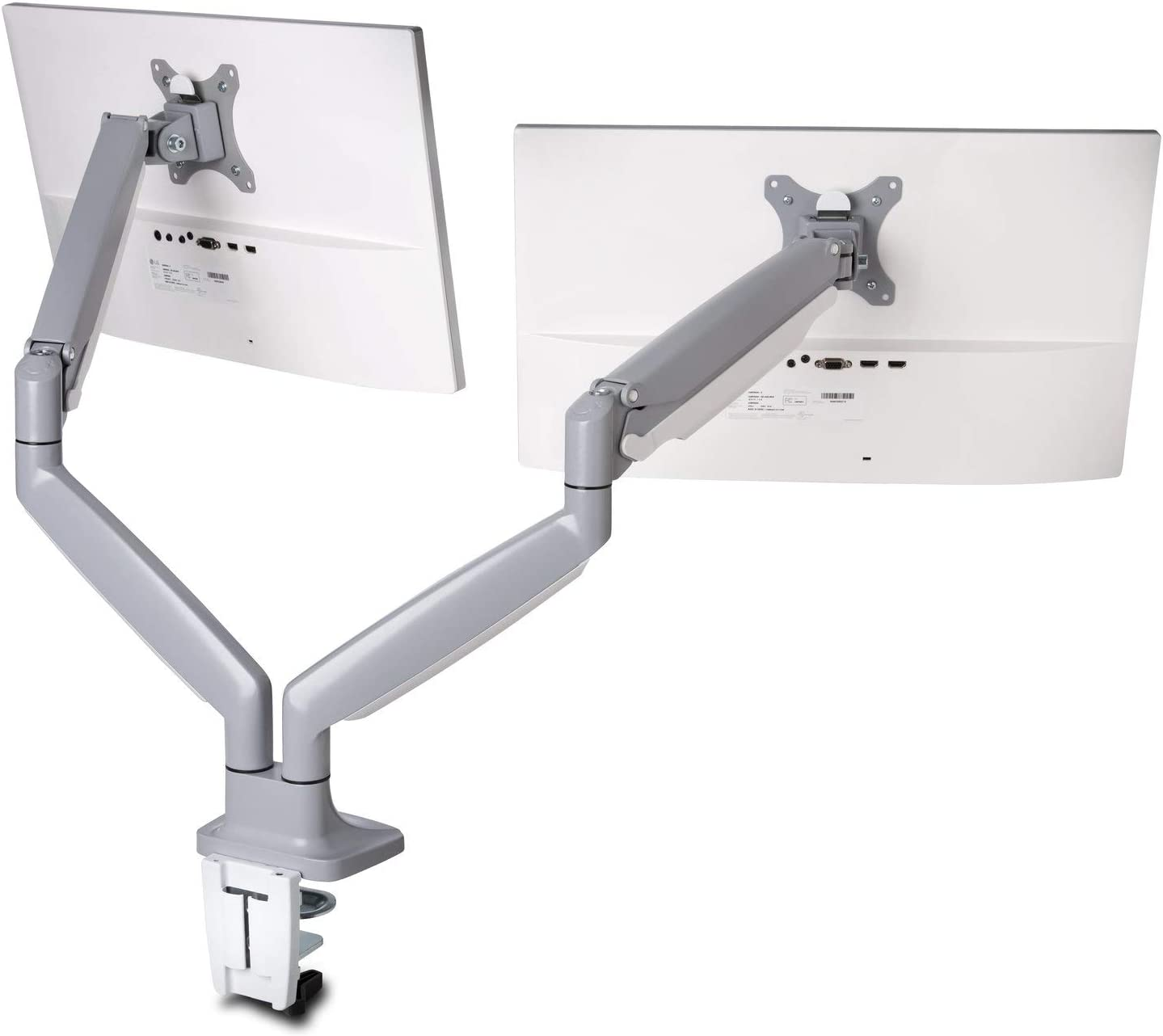 Kensington K55471WW Monitor Arm One Touch Height Adjustable , grey